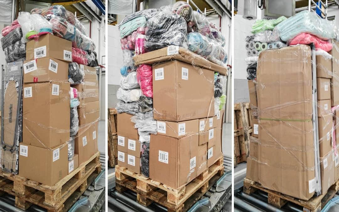 El problema de los palets mixtos/inestables en el sector de la logística y distribución