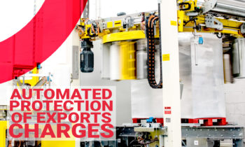 The fully automated protection of the charges for export.