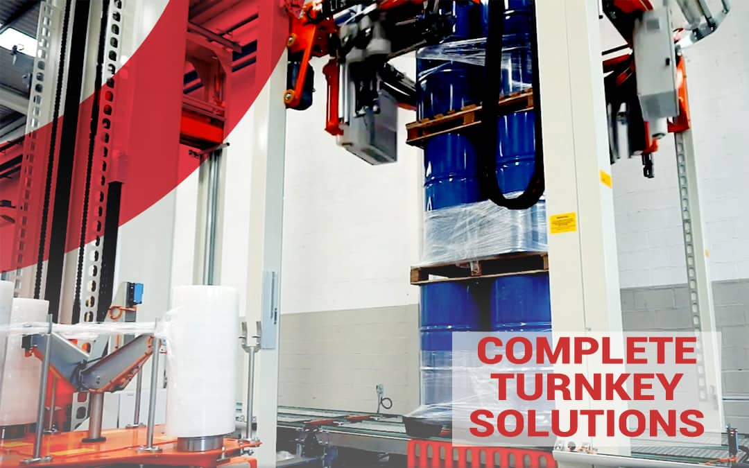 Complete turnkey solutions