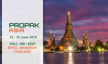 Movitec participará en ProPak Asia 2019