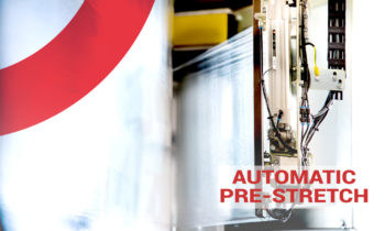 Automatic pre-stretch and maximum load stability