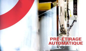 Notre pré-étirage automatique et stabilité de charge maximale